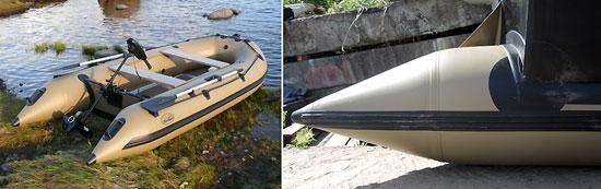 Интерцептор на лодку пвх