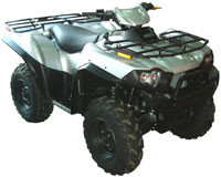 РАСШИРИТЕЛИ АРОК ДЛЯ КВАДРОЦИКЛА KAWASAKI BRUTE FORCE 650/750 DIRECTION 2 INC