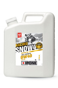 IPONE Масло 4Т SNOW RACING 0W40 4L