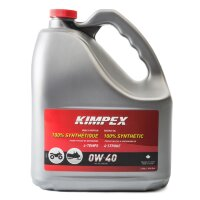 Масло моторное KIMPEX SNOW/ATV 4-S100 0W40 синтетика 4T (-47С°, API SM, JASO MA), 4L