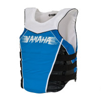 Жилет Yamaha Side Entry Nylon PFD (Сине-белый)
