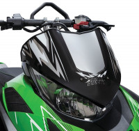 "Стекло ветровое Arctic Cat 6,5"" (Black Chrome) ZR, M, XF 4000, 5000, 6000, 8000, 9000 'F, M, XF 800, 1100, 1100T"